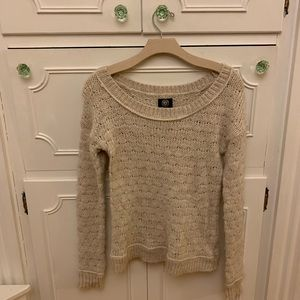 American Eagle Off White Sweater